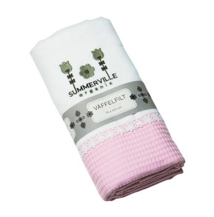 Summerville Filt stor vit/rosa
