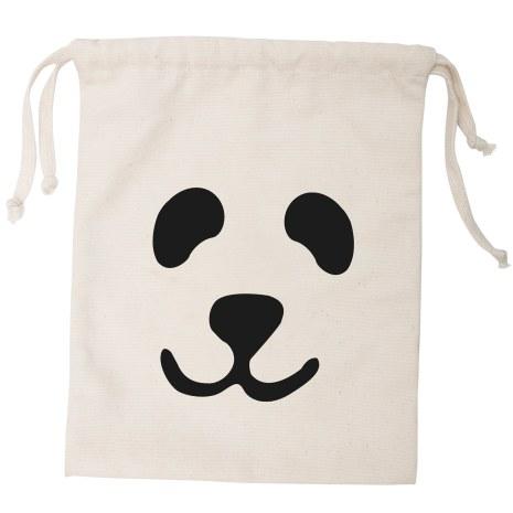 Tellkiddo Fabric Bag Panda Small