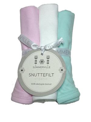 Summerville Snuttefilt 3-pack rosa