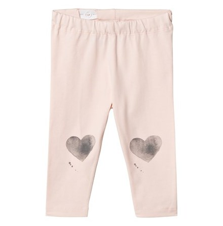 One We Like Leggings Heart Pink