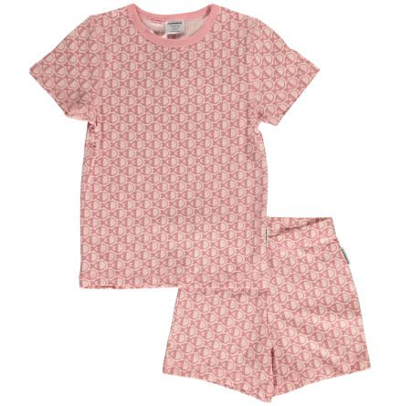 Maxomorra Pyjamas Set SS Fish