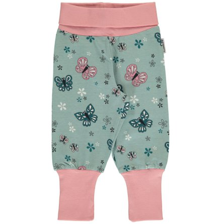 Maxomorra Rib Pants Butterfly