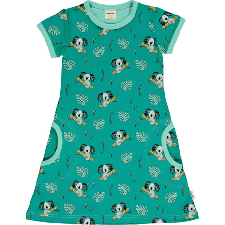 Maxomorra Dress SS Koala Garden