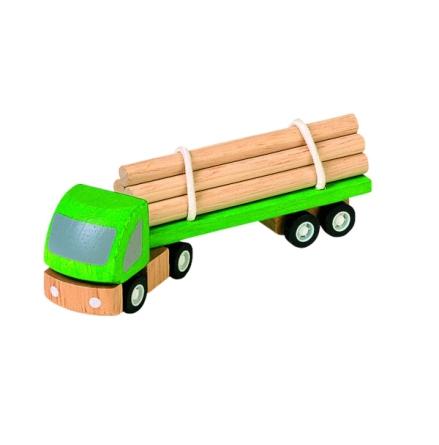 Plan Toys Grön Timmerbil