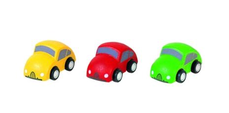 Plan Toys Tre småbilar