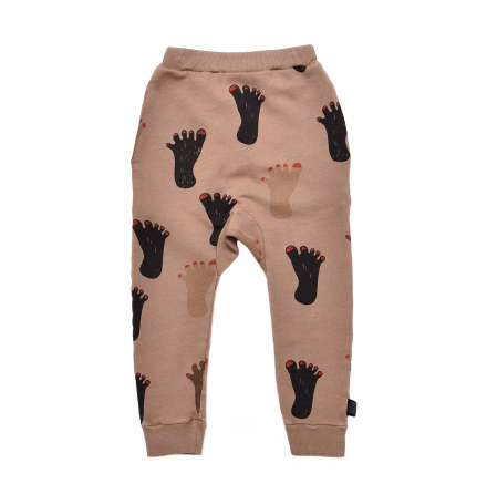 Little Man Happy Footprint Sweatpants