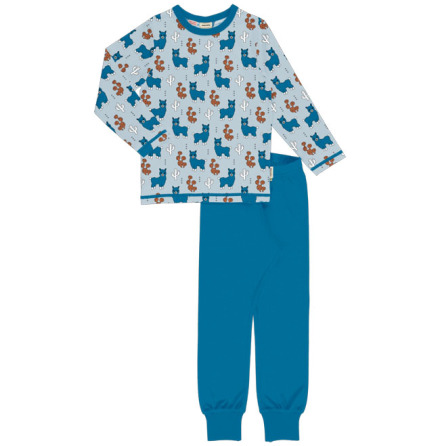 Maxomorra Pyjamas Set LS Alpaca Friends