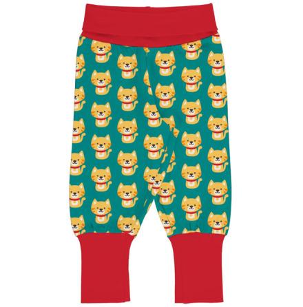 Maxomorra Rib Pants Cat