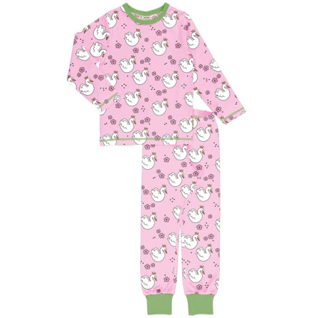 Maxomorra Pyjamas Set LS Swan Queen