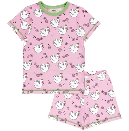 Maxomorra Pyjamas Set SS Swan Queen