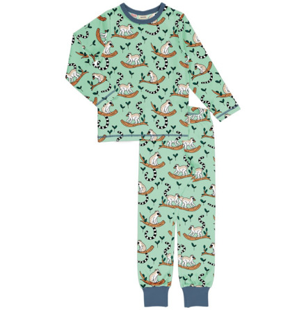 Maxomorra Pyjamas Set LS Maki Jungle