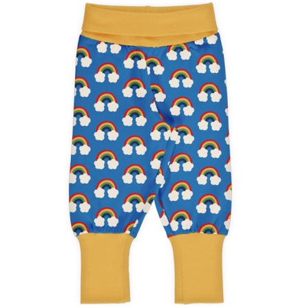 Maxomorra Rib Pants Rainbow