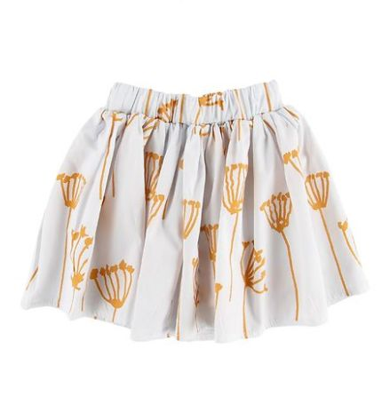 GRO Kiki Skirt White