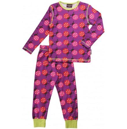 Maxomorra Pyjamas Set LS Ladybug
