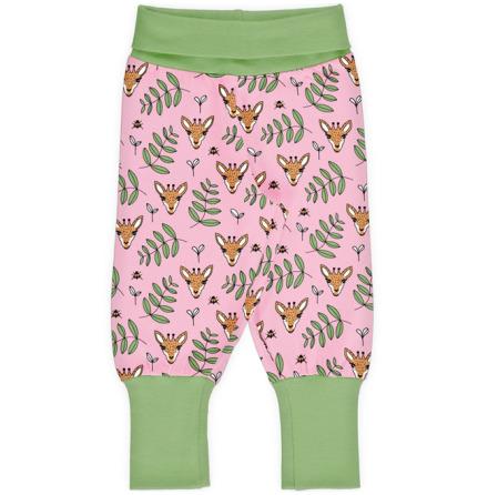Maxomorra Rib Pants Giraffe Garden