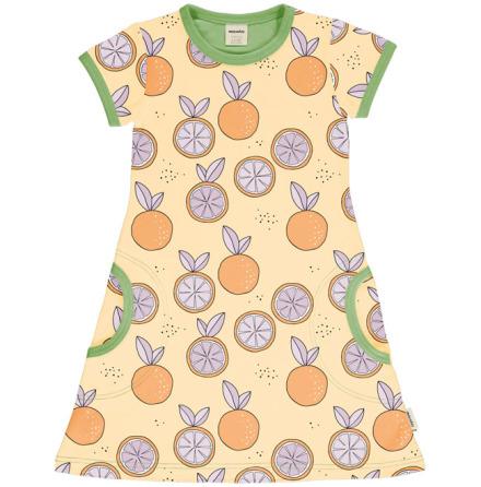 Maxomorra Dress SS Citrus Sun