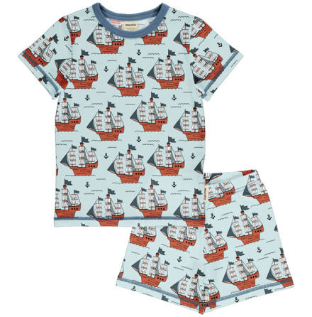 Maxomorra Pyjamas Set SS Pirate Adventures