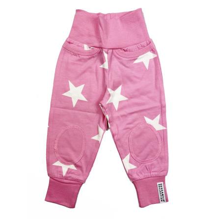 Geggamoja Babypant Pink Star