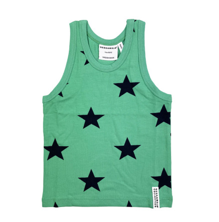 Geggamoja Tank Top Green Star