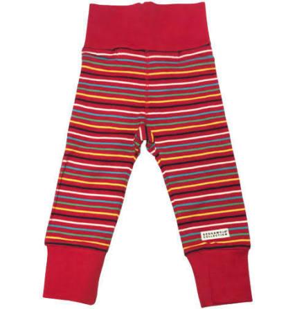 Geggamoja Babypant Multistripe Red