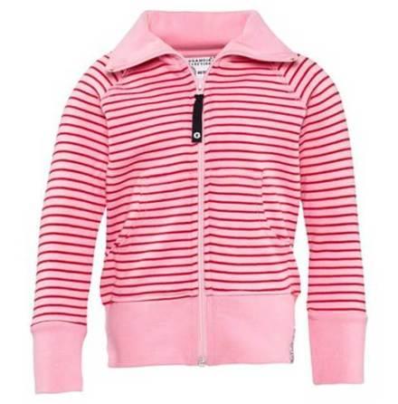 Geggamoja Zipsweater Pink/Red