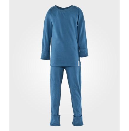 Geggamoja Tvådelad Pyjamas Blå