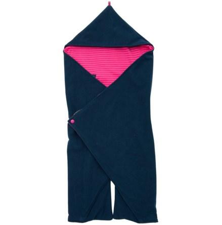 Geggamoja Wraparound Blanket Fleece Cerise