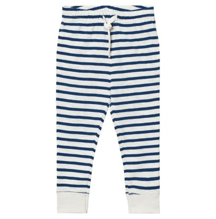 Ebbe Kids Sven Low Crotch pants Offwhite/Navy