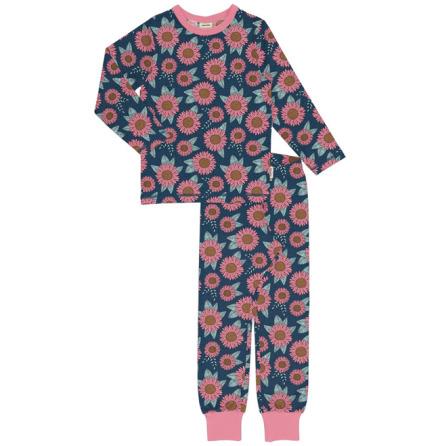 Maxomorra Pyjamas Set LS Sunflower Dreams