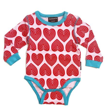 Maxomorra Body LS Hearts