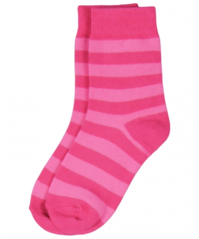 Maxomorra Socks Pink Stripe