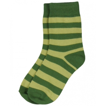 Maxomorra Socks Green Stripe
