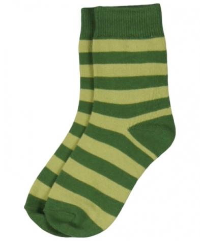 Maxomorra Socks Green Stripe