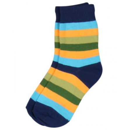 Maxomorra Socks Multiblue Stripe
