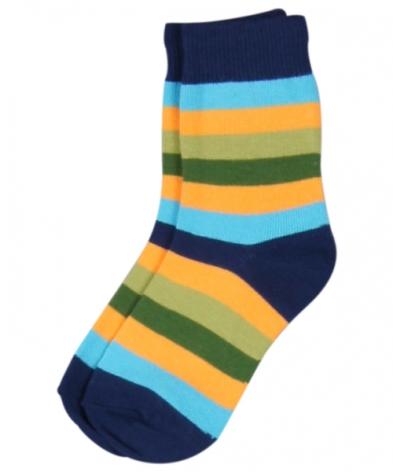Maxomorra Socks Multiblue Stripe