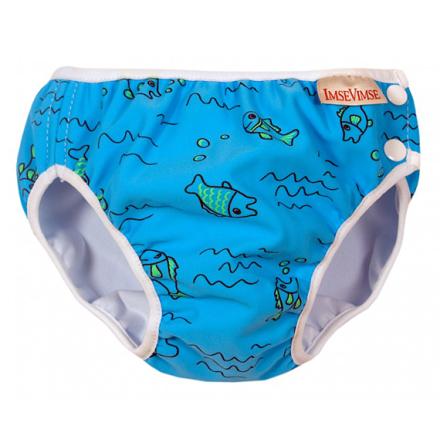 Imse Vimse swimpant turquoise fish