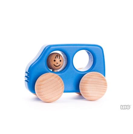 Pickup med förare - blå
