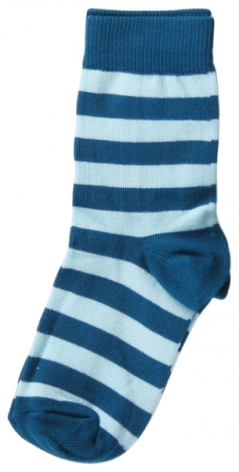 Maxomorra Socks Petrol/Light blue