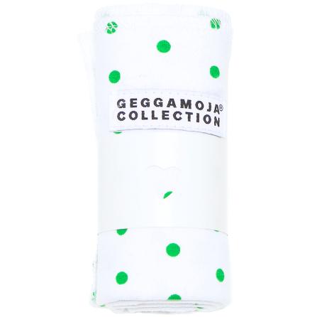 Geggamoja Snuttefilt Green Dot