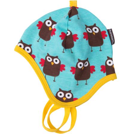 Maxomorra Baby Mössa Owl Unisex