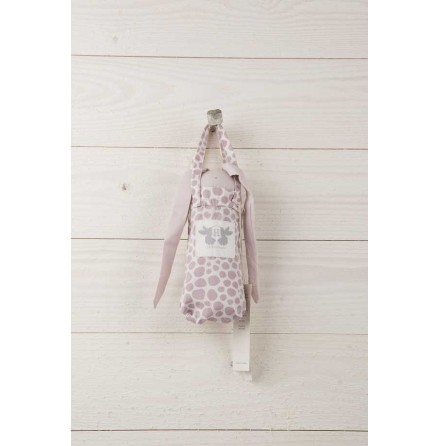 By Heritage Cuddle Blanket Rabbit Pink