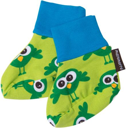 Maxomorra Babytossor Bird Green