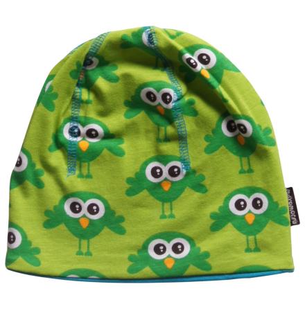 Maxomorra Mössa Bird Green
