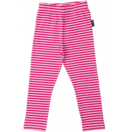 Maxomorra Leggings Cerise Stripes