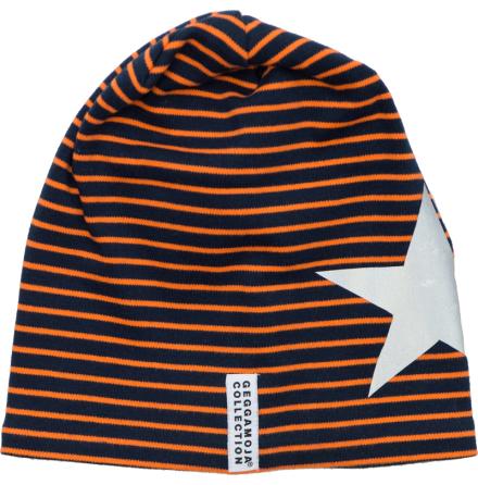 Geggamoja Mössa Marin/Orange