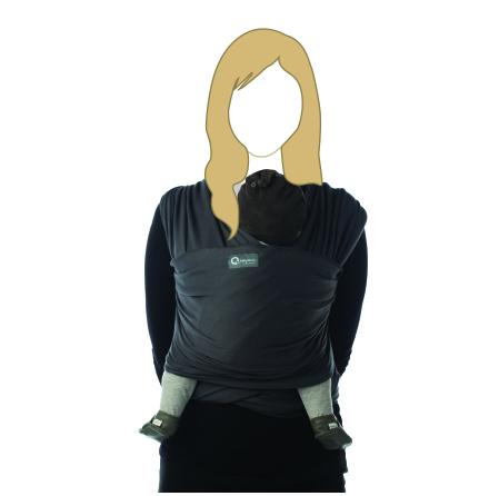 Bärsjal Tricot-slen Mörkgrå