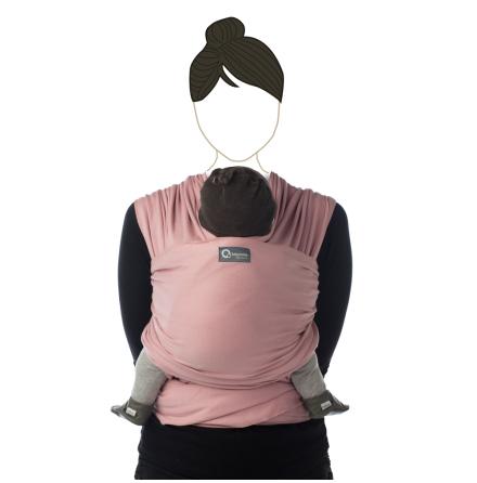 Bärsjal Tricot-slen Soft Pink