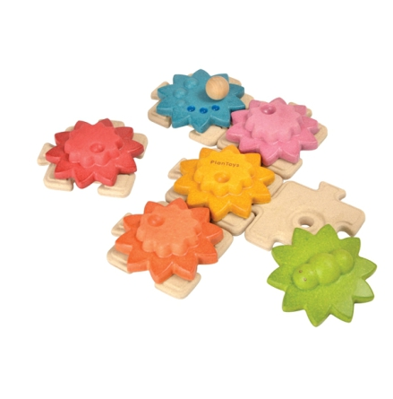 Plan Toys Gear & Puzzles Standard