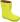 Bundgaard naturgummistövel gul