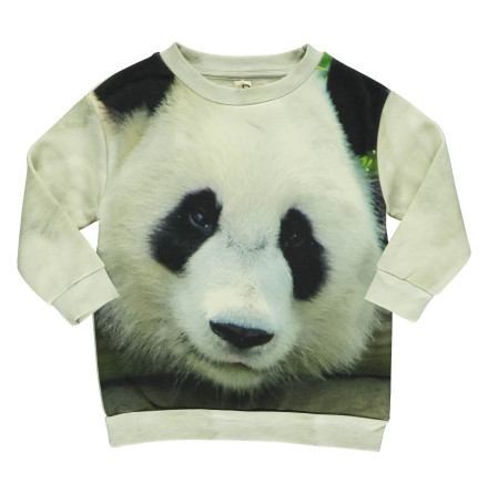Popupshop Loose Sweat Panda